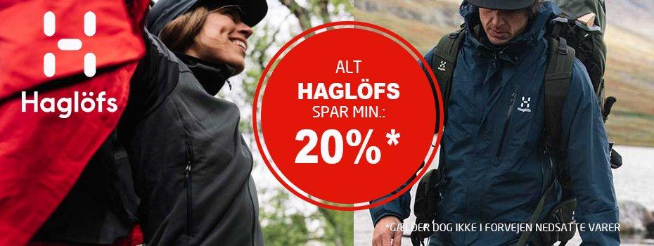 Alt fra Haglöfs spar min. 20%